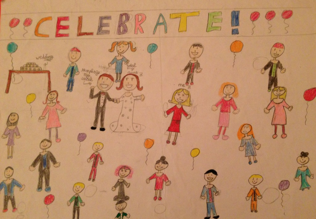 "Category B Winner ""Celebration Time"" by Róisín Murphy 3rd Class Banteer N.S"