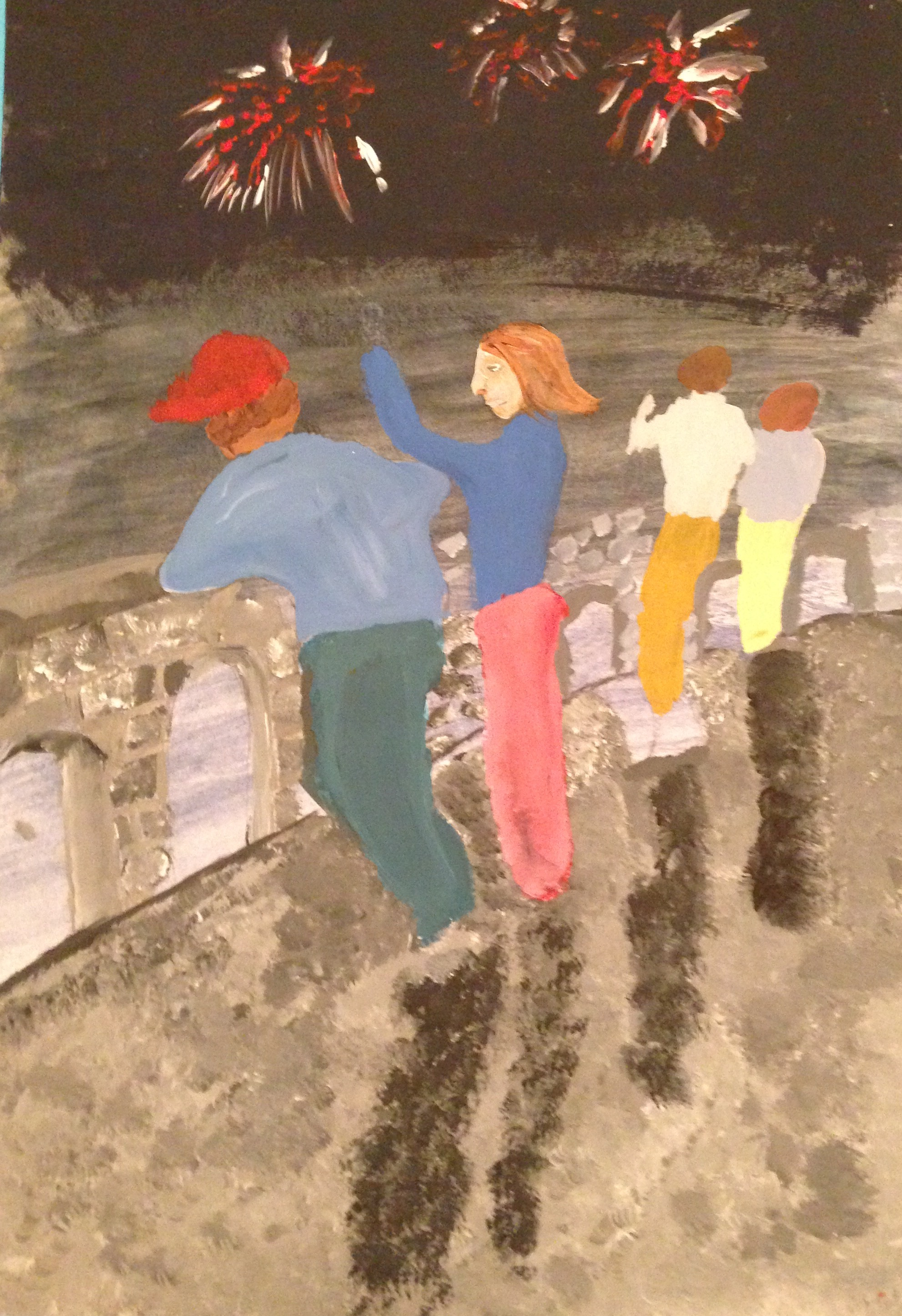 """Category E Winner """"A View From The Bridge"""" by Darren O'Leary 2nd year Scoil Mhuire"""