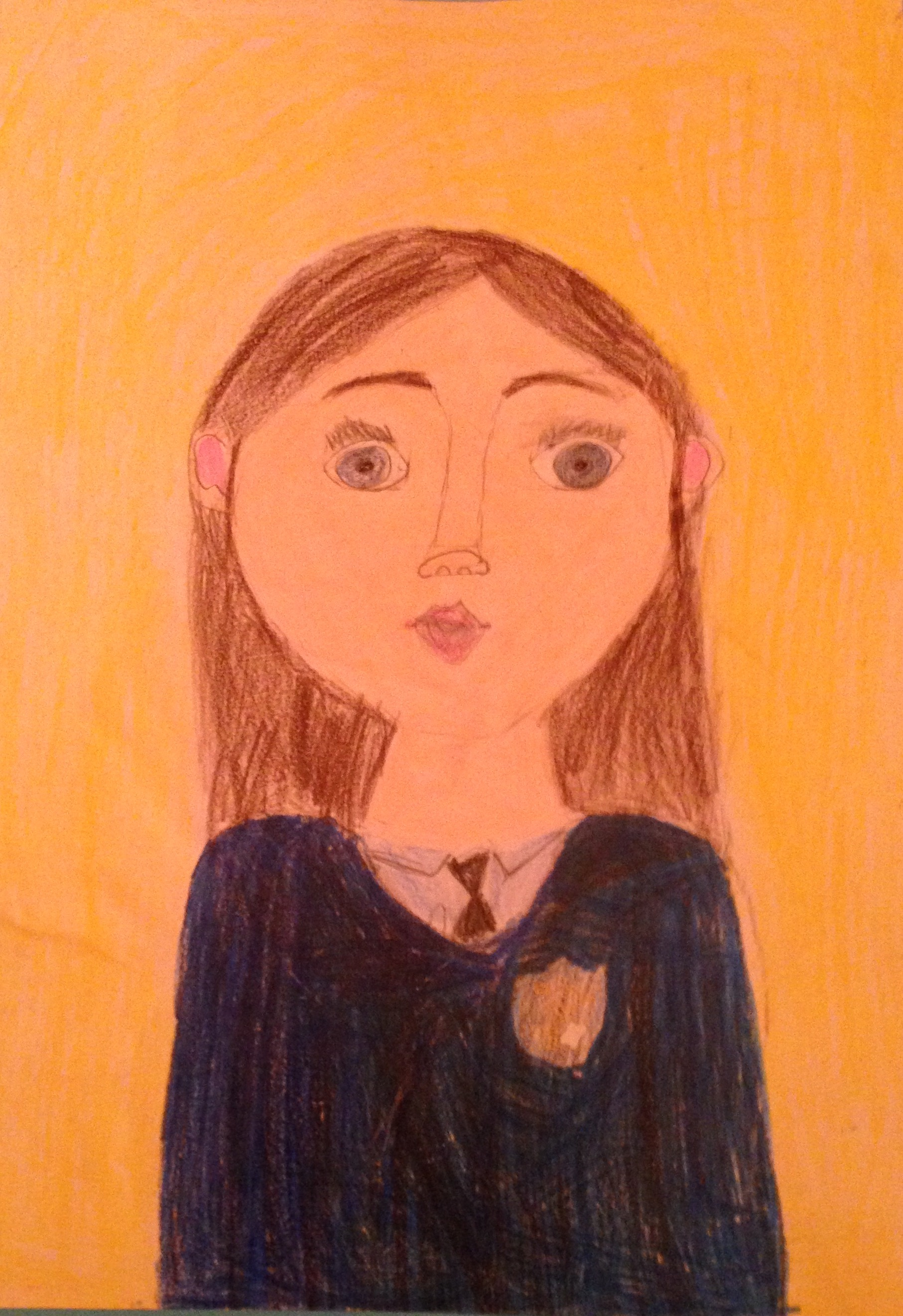 "Category C Winner ""The Perfect Student"" by Miah O'Leary 4th Class Kilbrin N.S"