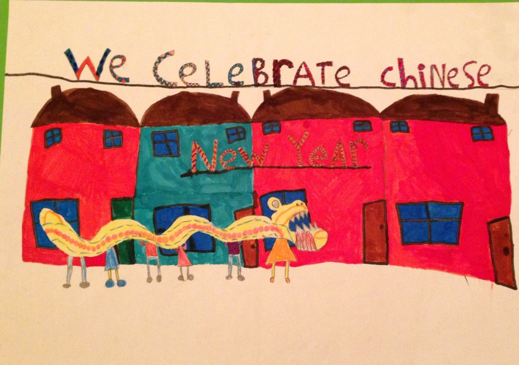 """Chinese New Year"" by Avril Murphy 2nd Class Banteer N.S"