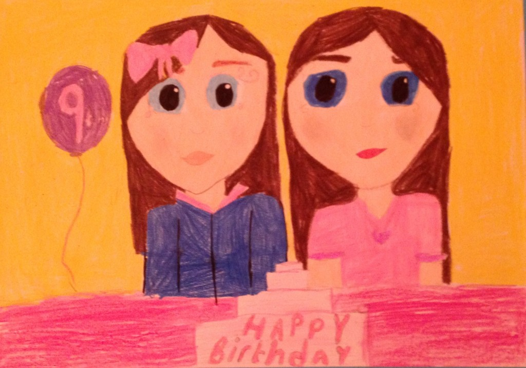 """Happy Birthday"" by Laura Enright Convent of Mercy N.S"