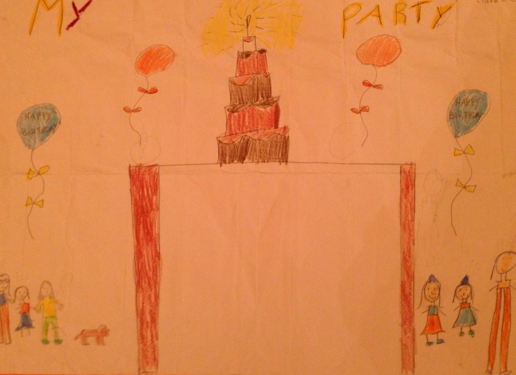 """My Party by Ciara O'C 3rd Class Banteer N.S."