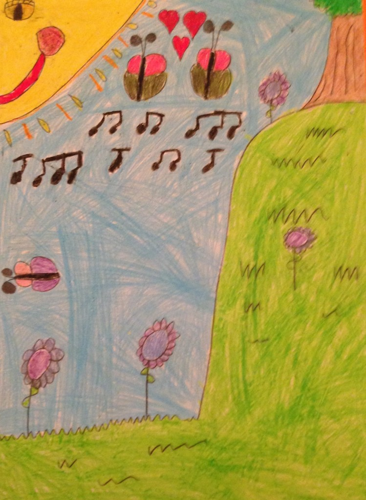 """Love on a Summers Day"" by Chloe Clifford 2nd Class Kilbrin N.S."