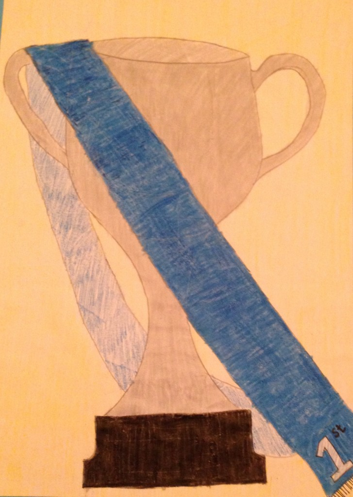 Trophy by Amy Lyons 1st Year Colaiste Treasa