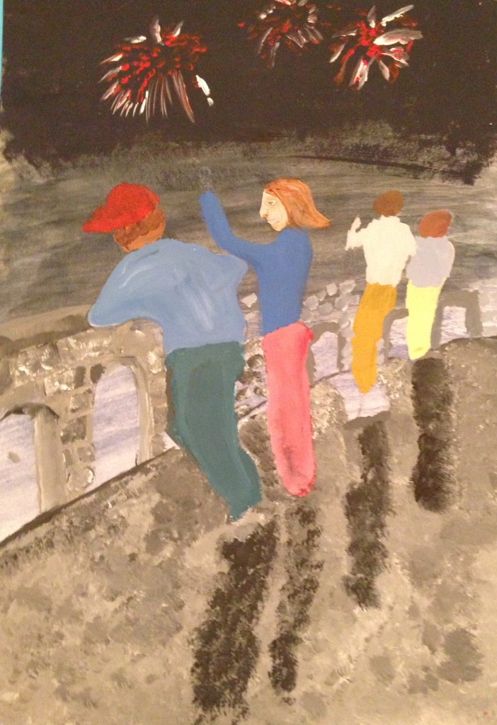 A View From The Bridge by Darren O'Leary 2nd year Scoil Mhuire