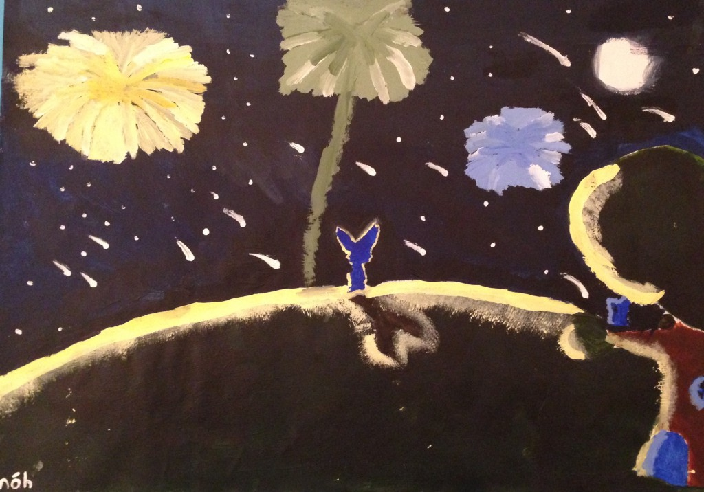 A Glow In The Night ! by Michelle O'Hanlon 2nd year Scoil Mhuire