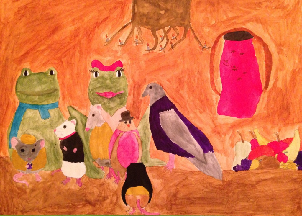 When the Cats Away by Shauna O'Connor 2nd year Scoil Mhuire