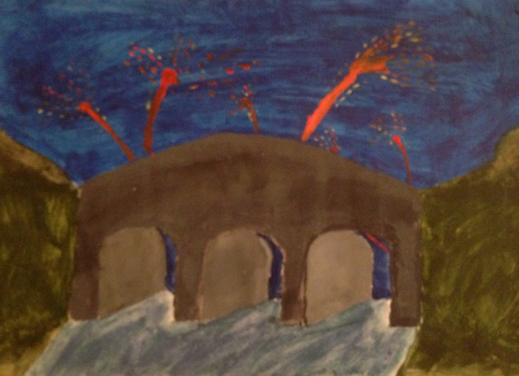 Sparks in The Sky by Hollie O'Sullivan 2nd year Scoil Mhuire