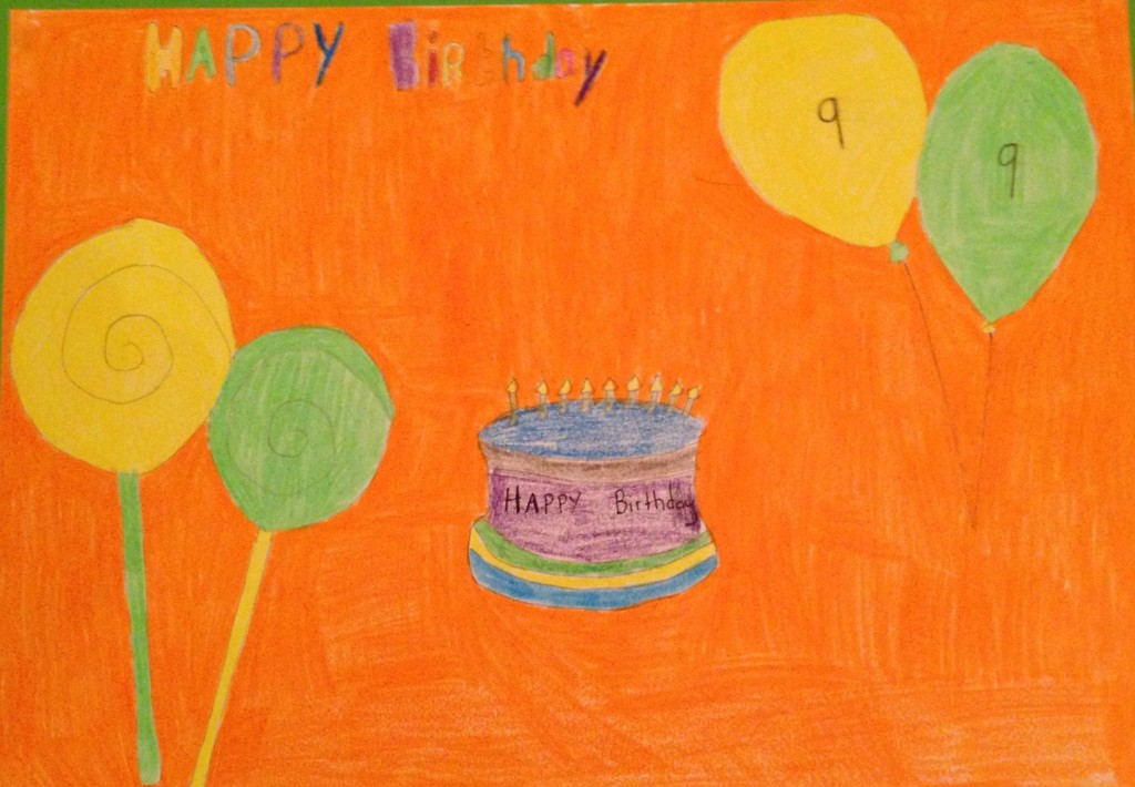 """My Party"" by Bailey O'Driscoll 2nd Class St Colemans's B.N.S."