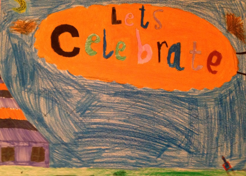Let's Celebrate by Cian Cashman 3rd Class Banteer N.S