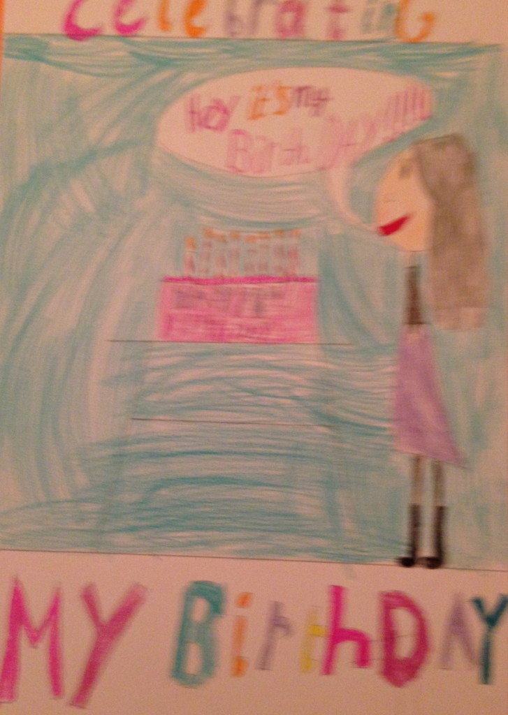 My Birthday Party by Jessica Cremin 3rd Class Banteer N.S.