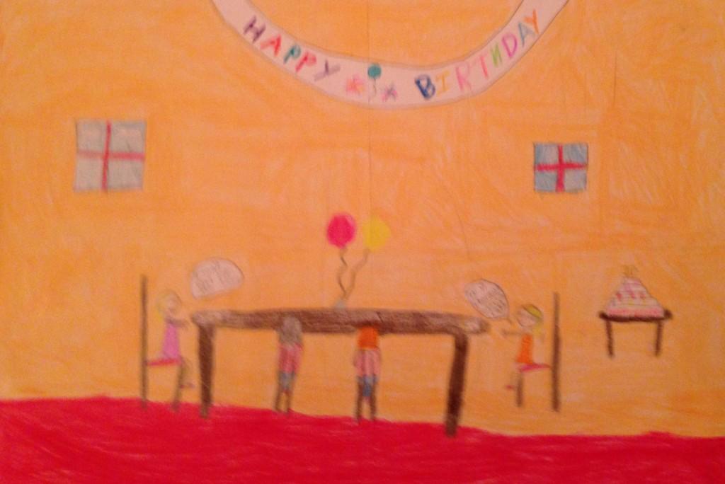 Celebrate Birthdays by Juliette Farrissey 3rd Class Banteer N.S