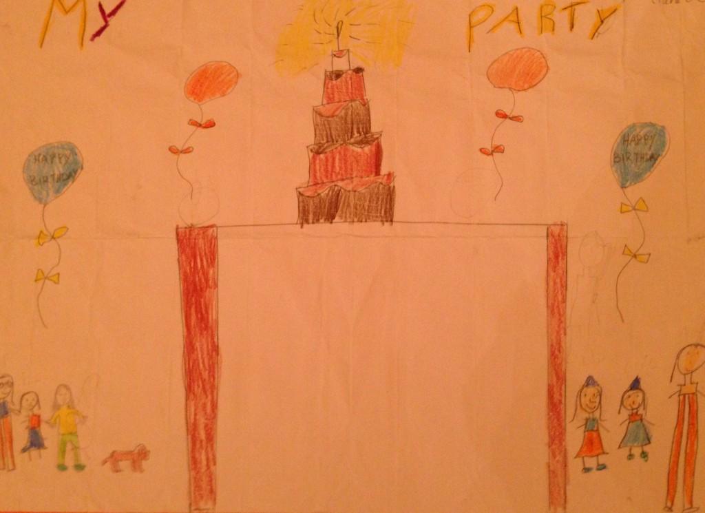 """My Party by Ciara O'C 3rd Class Banteer N.S."
