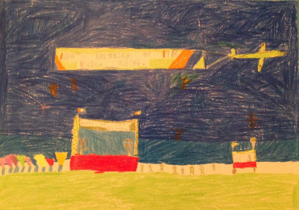 """""""Birth of Our Nation"""" by Nathen Higgins 3rd Class St, Colemans's B.N.S."""