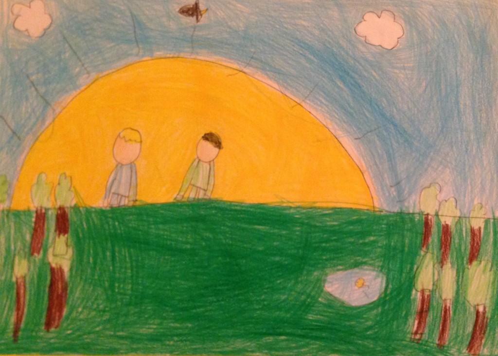 "The Sunrise "" by Timmy O'Brien 2nd Class Kilbrin N.S"