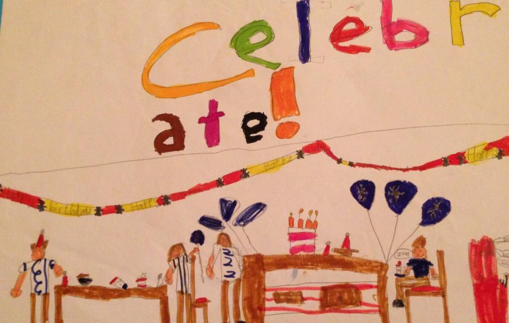 """Celebrations"" by Jamie Murphy 2nd Class Banteer N.S."