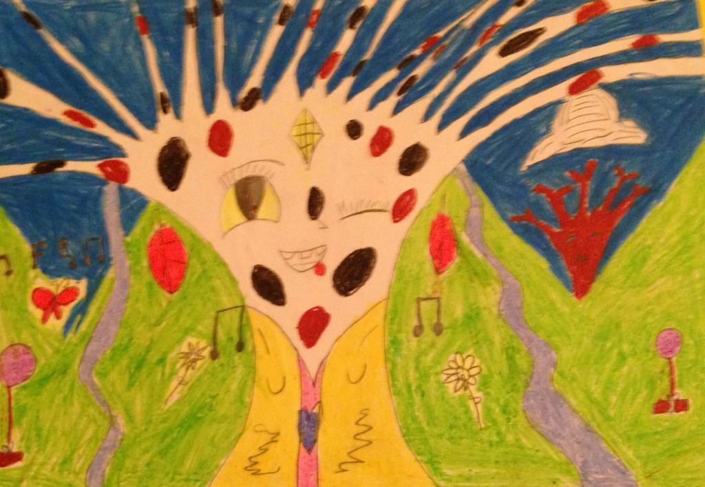 """Happy Birthday Mother Nature"" by Emma Louise Heffernan 2nd Class Kilbrin N.S."